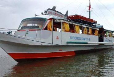 Boat Bangka Fiber Glass 80 seater