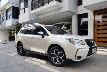 2015 Subaru forester xt turbo
