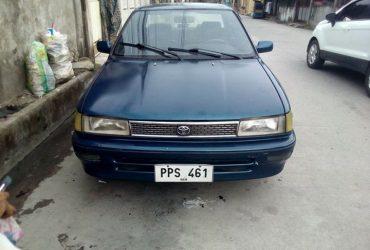 Toyota corolla smallbody gl 1990