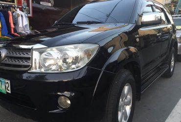 toyota fortuner 2010 G diesel matic