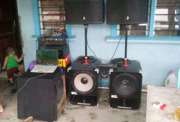 "Sub bass box 15"" load jh157 ung isa audioline au156 15"" midrange pares 12"" XENON PRO-XS1265.."