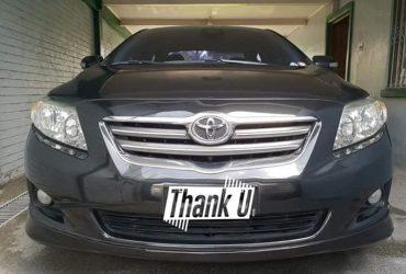 Toyota Altis G 2009 MT