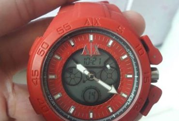 Armani Exchange Oversized Watch Original Rush!!