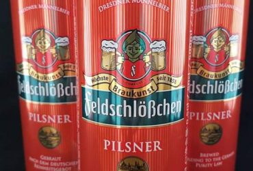 German Beer Feldschlößchen Pilsner