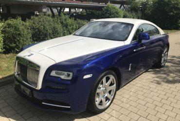 Rolls-Royce Wraith in Salamanca Blue & Andalusian White, Böblingen