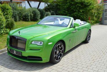 Rolls-Royce Dawn Black Badge in Java Green, Böblingen