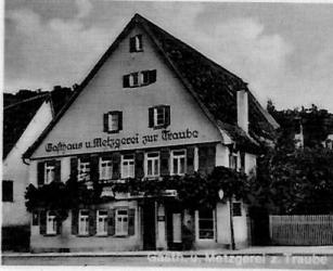 """""""Gasthaus zur Traube"""" in Herrenberg"""