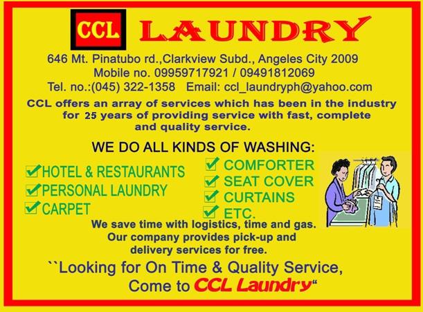 CCL LAUNDRY