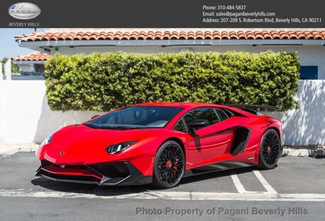 2017 Lamborghini Aventador Lp 750 4 Sv Search And Find 24
