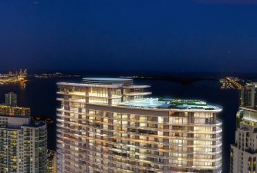 New construction with luxurious 4 rooms for sale in Miami, USA