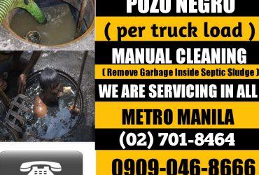 METRO MANILA MALABANAN SIPHONING POZO NEGRO (02) 701-8464 09090468666 09753315388