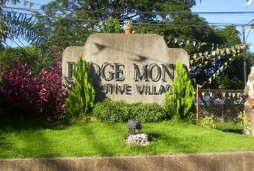 RIDGEMONT EXECUTIVE VILLAGE Taytay, Rizal