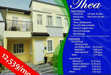 Affordable house n lot low cost prices in Lancaster cavite New City
