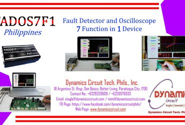 Fados7f1 Fault Detector and Oscilloscope Philippines