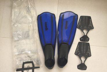 MARES Frontline Snorkel Fins – 3 sets
