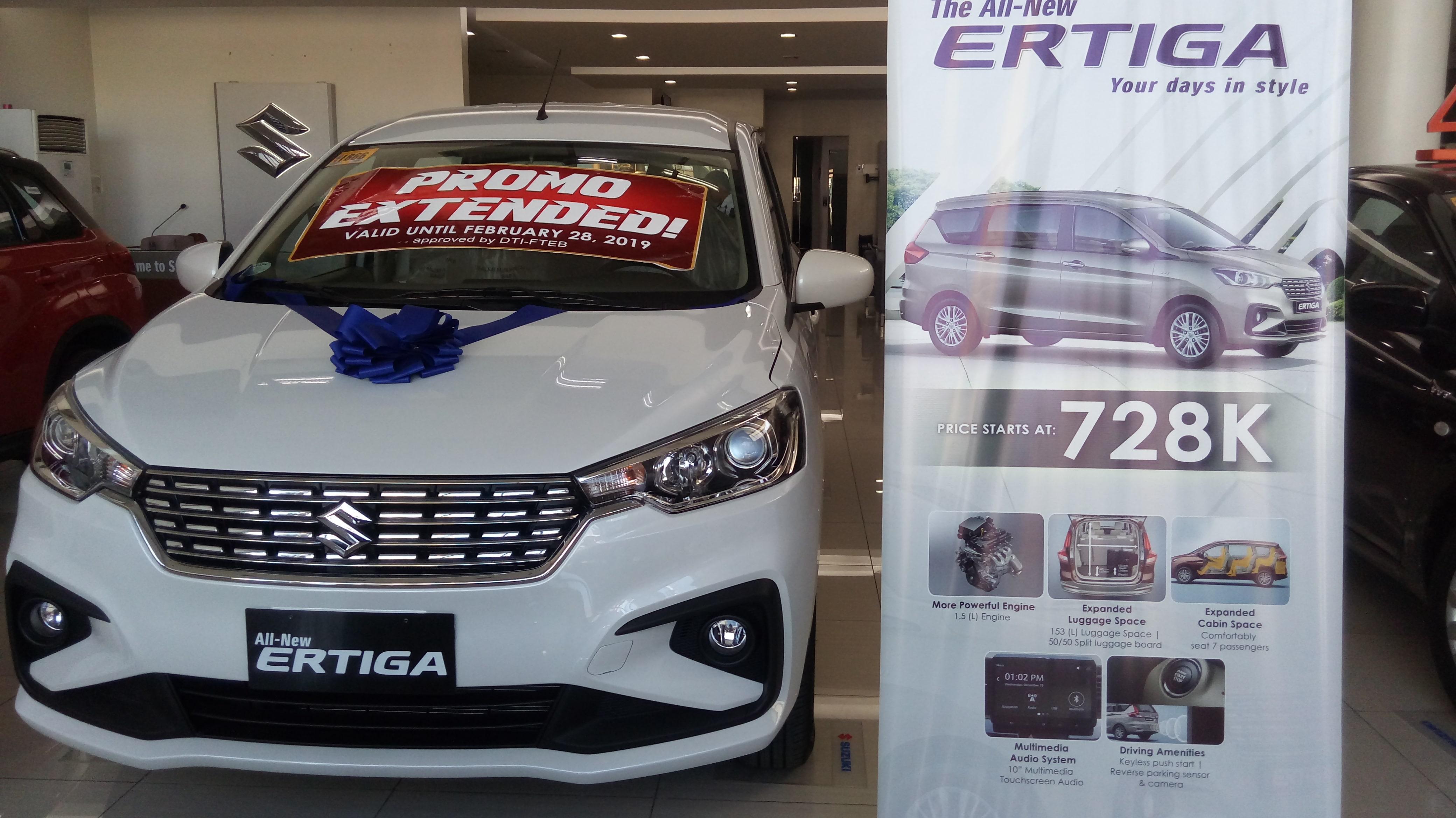 Brand New Suzuki Ertiga 2019