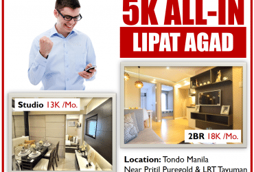 6k Pre-selling Condo in Ortigas Pasig Rent to own