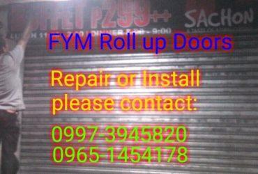 Roll up doors Repair or Install