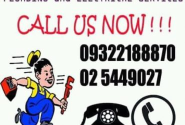 Mel plumbing And electrician services.