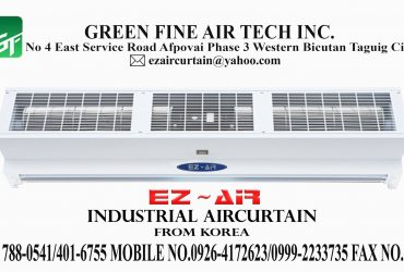 Ez-Air Curtain Industrial type with Single Phase