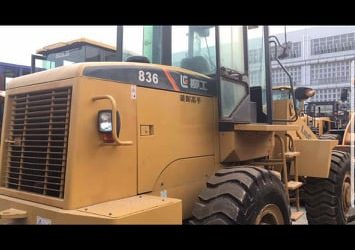 SECOND HAND LIUGONG WHEEL LOADER AND PIZON