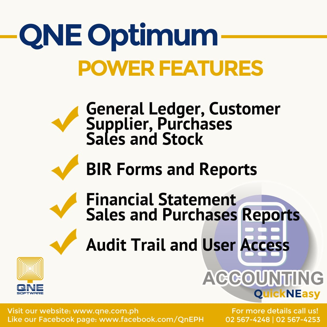 QNE Software: The Business Software for Your Success