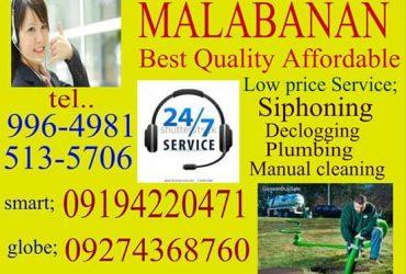 Malabanan siphoning pozo negro in Quezon City  09194220471