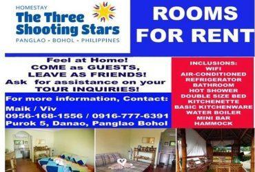The Three Shooting Stars
