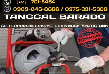 TUBERO TANGGAL BARADO VALENZUELA CITY 09090468666 09753315388 7018464 DECLOGGING