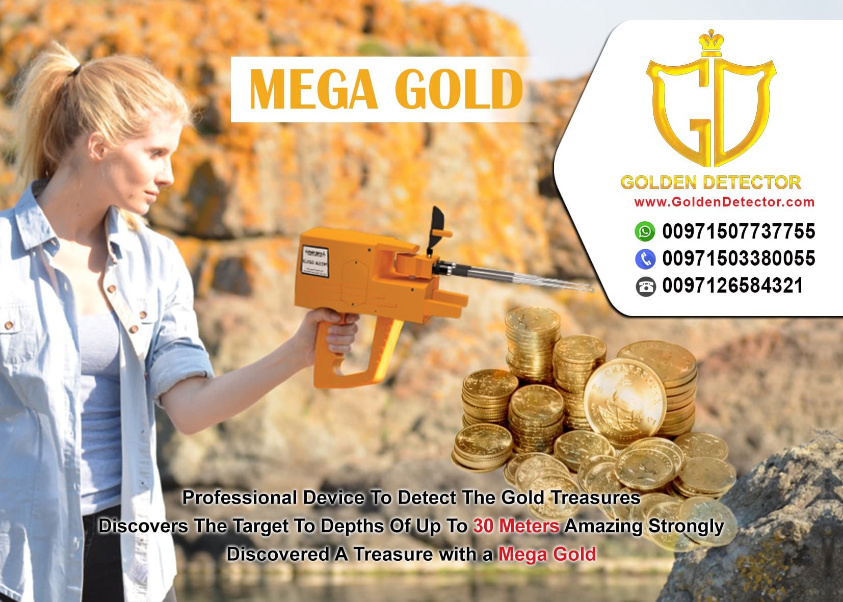mega gold locator | gold detector