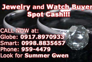 Spot Cash! – Jewelry, Diamonds and Swiss Watch Buyer