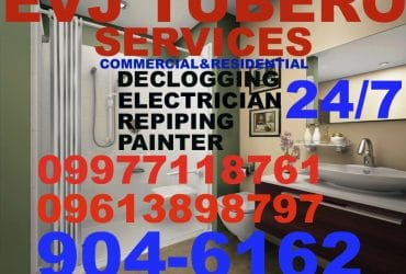EVJ Plumbing Tubero and Services