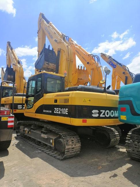 ZOOMLION EXCAVATOR ZE210E