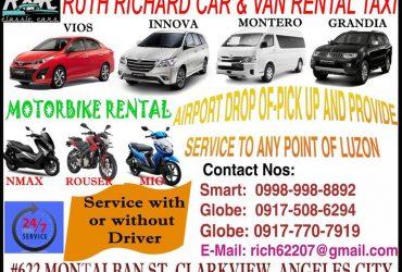 R & R RITCHARD CAR & VAN RENTAL