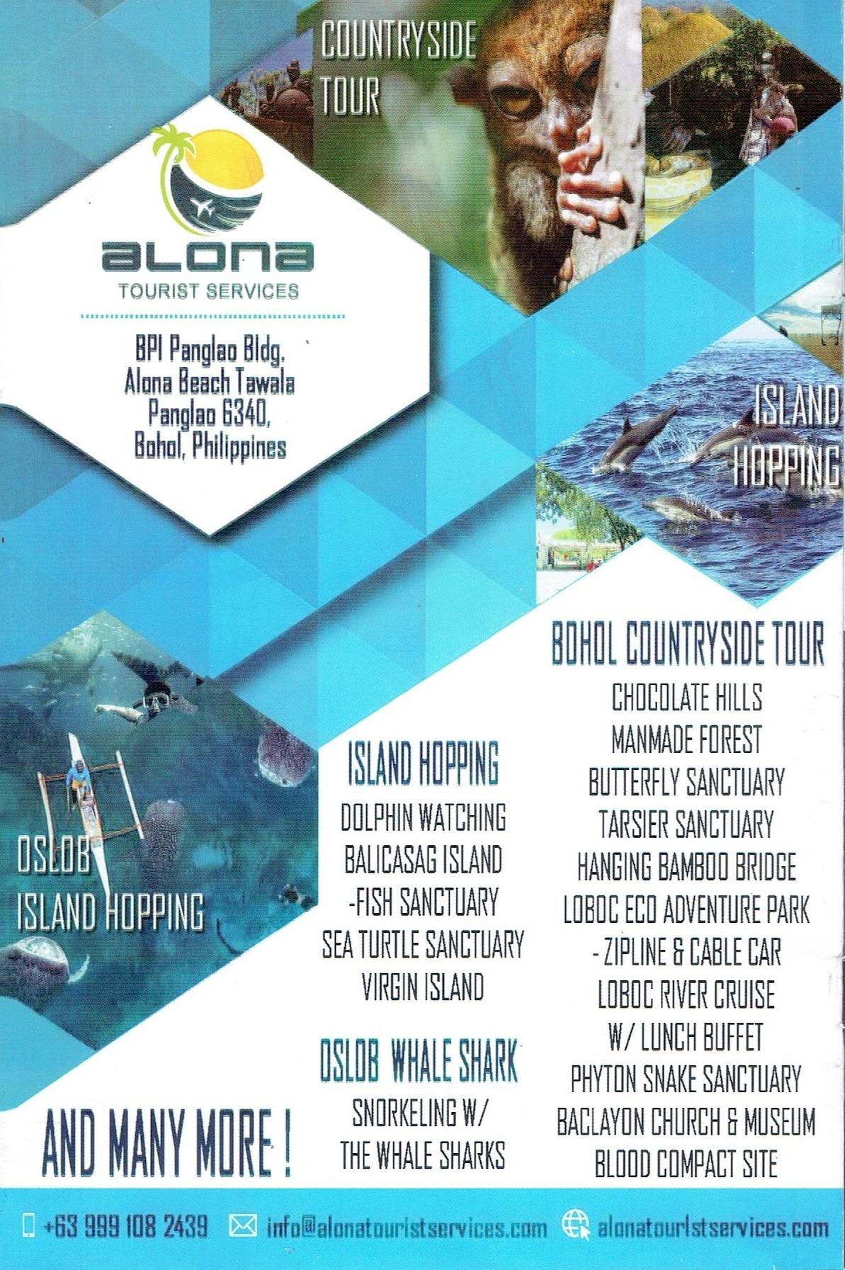 Alona Tourist Services