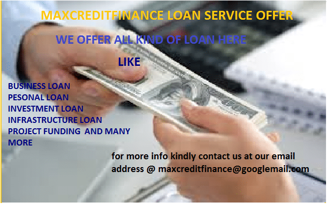 URGENT FINANCE OFFFER TO SOLVE YOUR FINANCIAL ISSUE