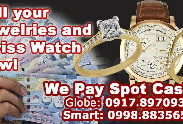 Trusted Buyer of Diamond Jewelry & Watches in the Philippines