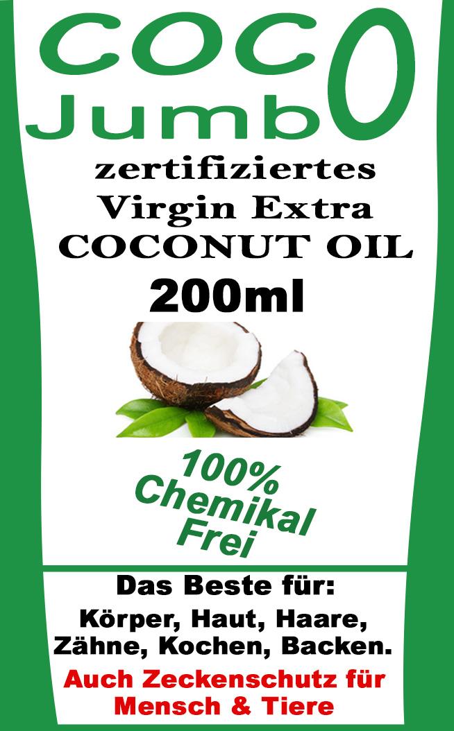 Virgin Extra Coconut Oil