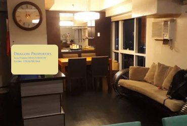 2BR Penthouse Bi-Level East of Galleria Furnished 1parking Rent 90K/mo near Podium Megamall
