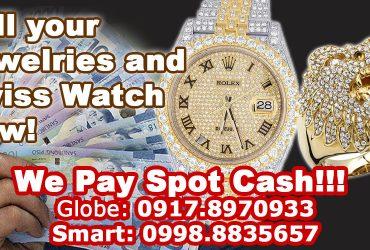 Jewelry Buyer & Diamond buyer. Visit us near Aurora Blvd, Cubao!