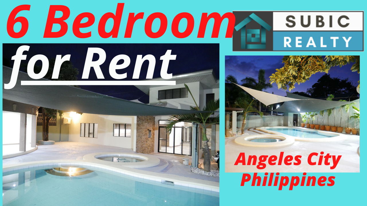 Executive Home for Rent, Angeles City, Philippines | Timog Park