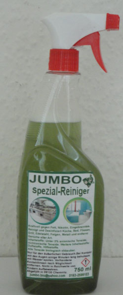 Jumbo Spezial-Reiniger 750 ml, 7,50€