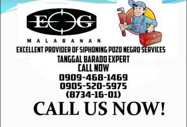 cagayan de oro Malabanan Siphoning Pozo negro & tanggal barado Expert