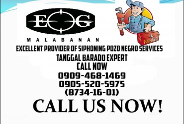 Malabanan Siphoning Pozo negro & tanggal barado Expert