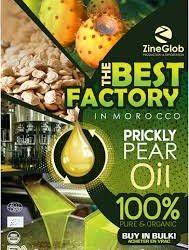 ZINEGLOB/MOOCCAN PRODUCER AND SUPPLIER PRICKLY PEAR OIL