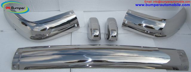 Volvo Amazon Euro bumper (1956-1970) by stainless steel