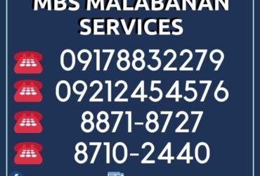 MBS MALABANAN SIPHONING 88718727