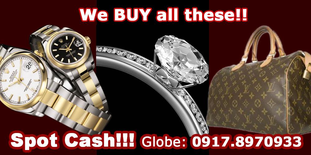 We buy your Jewelries, Swiss watch & Diamonds! Look 4 Summer Gwen.