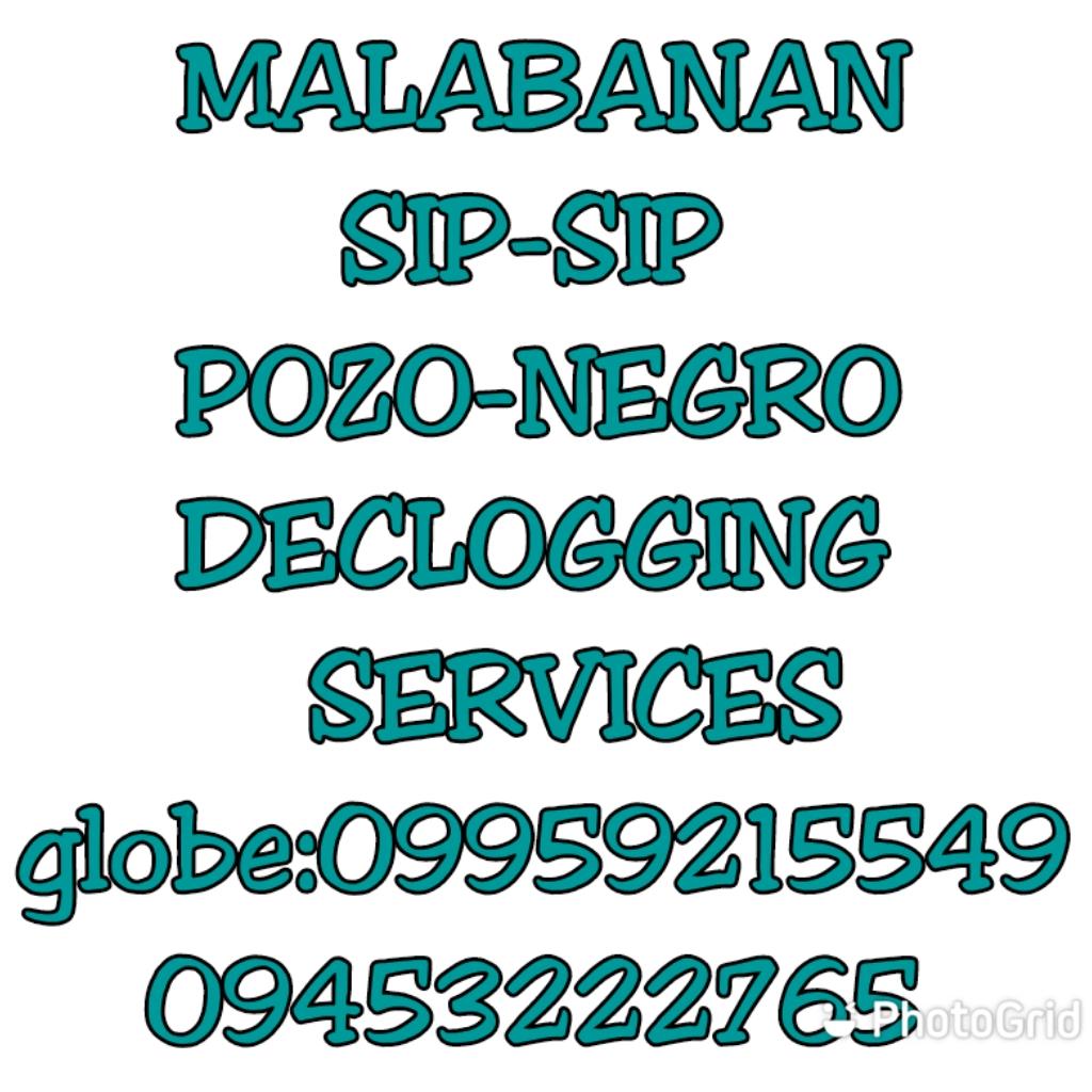 CALOOCAN MALABANAN SIPHONING POZO NEGRO SERVICES