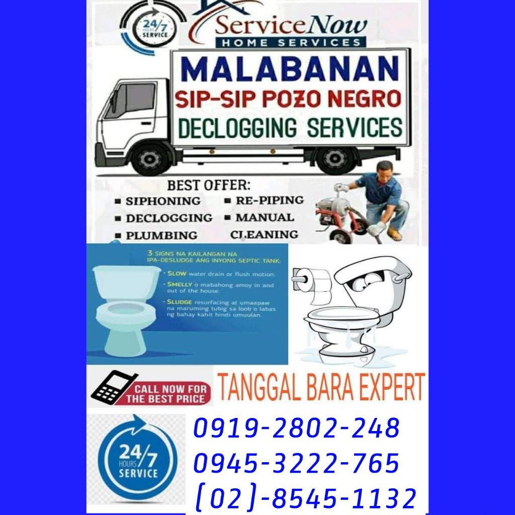 SAN JOSE DEL MONTE BULACAN MALABANAN SIPHONING POZO NEGRO SERVICES